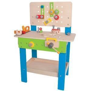 établi en bois hape 'master workbench' - jouets bio hape