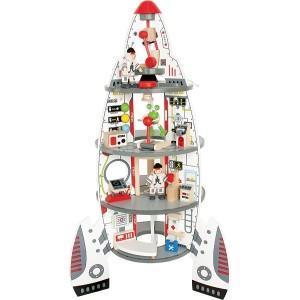 Fusée centre spatial hape - jouets hape