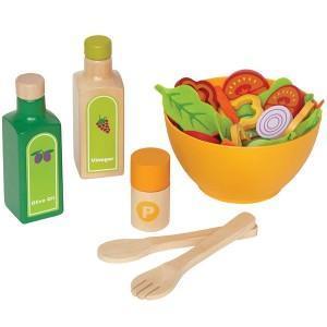 Dinette aliments salades du jardin - jouets bio hape
