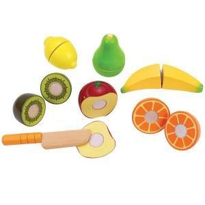 Dinette aliments fruits frais - jouets bio hape