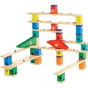 Hape quadrilla circuit billes - toboggan (autoroute) - jouets hape