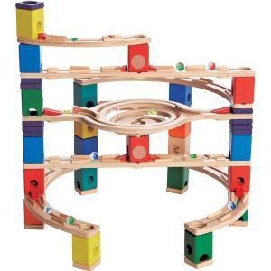 Quadrilla circuit bille - toboggan (loop de loop ) - jouets bio hape