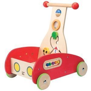 Trotteur en bois multi activités hape 'suprême' - jouets bio hape