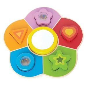 Puzzle de formes à miroir - jouets hape