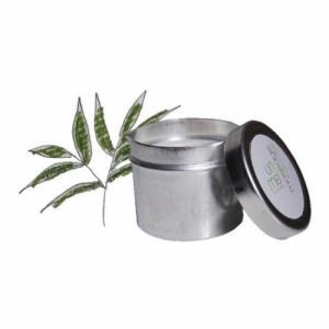 bougie de massage enivrante - thé vert