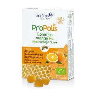 Gommes bio Propolis et Orange 45g