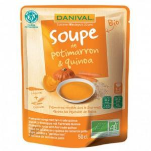 Soupe Potimarron - Quinoa Bio Equitable