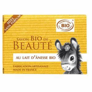 Savon au lait d'anesse bio sans parfum 100g