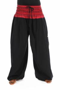 Pantalon sarouel elastique grande taille Khaita