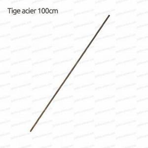 Tige acier 100cm x d.8mm