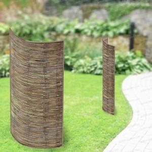 Panneau acier courbe Acacia 78cm x 180cm - Lot de 2