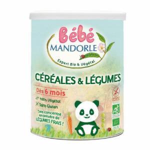 La Mandorle bébé céréales et légumes