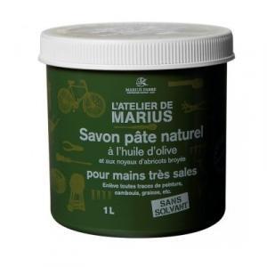 Savon pâte naturel grattant à l'huile d'olive