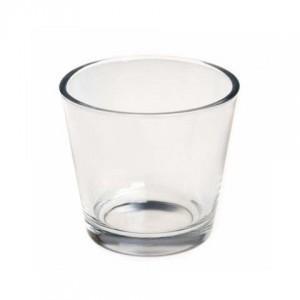 Bougeoir photophore verre