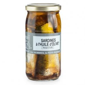 Sardine à l'huile d'olive