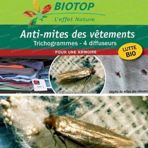 Trichogrammes, Anti mites des vêtements - 1 boite (4 semaines)