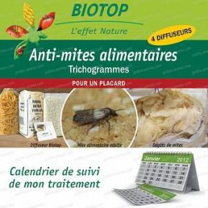 Trichogrammes, Anti mites alimentaires - 1 boite (4 semaines)