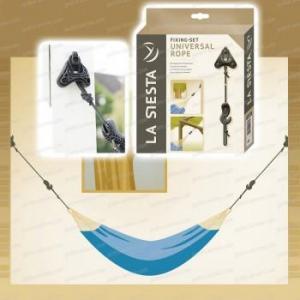 Kit de fixation universel (arbre, mur, poutre) pour hamac