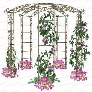 Kiosque de jardin tonnelle 5 pieds