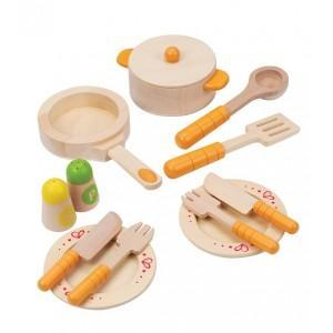 Dinette hape set casseroles - vaisselle