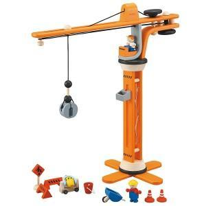 Grue de chantier plantoys 2
