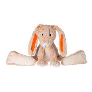 Happy horse doudou peluche lapin ficelle 31 cm  - doudou bébé