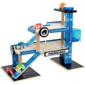 Hape jouet garage parking petites voitures - jouets hape 2