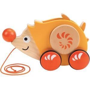 Hape jouet  à trainer herisson  - jouets hape