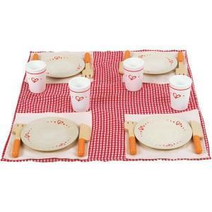 Dinette set dejeuner picnic  - jouets hape