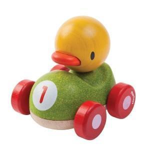 Plantoys petite voiture duky caneton  'planwood'  - jouet plantoys