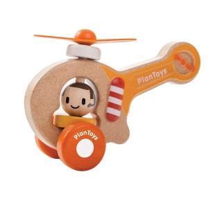 Jouet hélicoptère premier age  'planwood'  - jouet plantoys