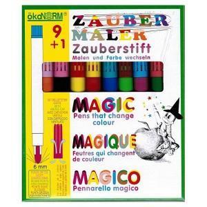 ökonorm feutres magic  9 couleurs   1 changeur de couleurs