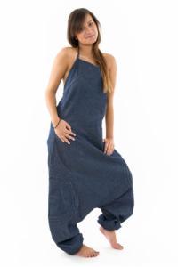 Combinaison sarwel femme blue jean brut urban street
