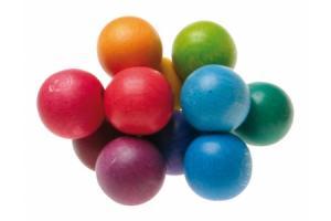 Hochet Perles multicolores Grimm's