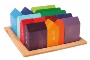 Blocs de construction 15 Maisons en bois
