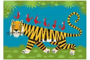 Puzzle en bois Le tigre 24 pcs