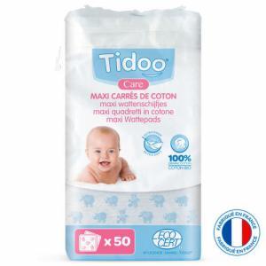 Maxi carrés de coton Tidoo