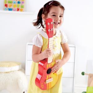 Guitare Ukuélé rouge E0316