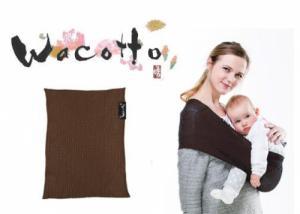 Porte-bébé Sling Tube WACOTTO Chocolat