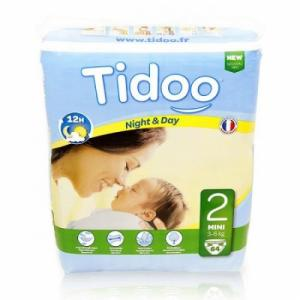 Couches jetables Tidoo T2 Mini 3-6kg