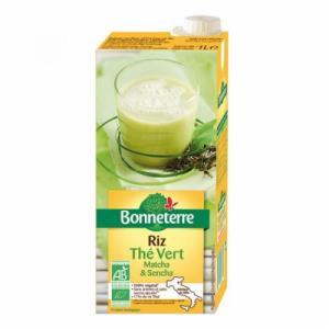 Boisson riz thé vert