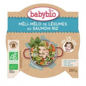 P'tit plat légumes saumon