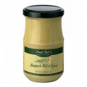 Moutarde au miel et aux épices