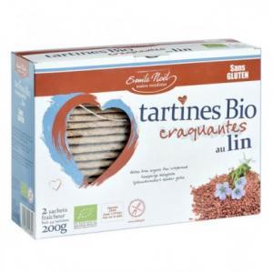 Tartines sans gluten au lin