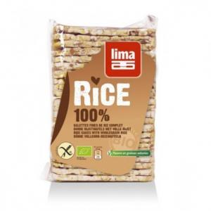 Galettes fines de riz complet