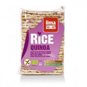 Galette fines de riz et quinoa