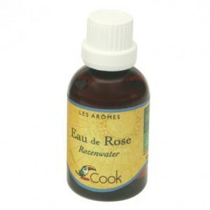 Extrait naturel d'eau de rose