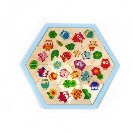 Puzzle casse-tête Chouettes