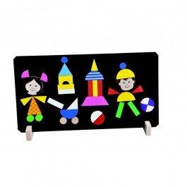 Tableau de jeu magnétique Enfants