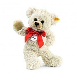 Ours Teddy-pantin Lilly crème 28 cm